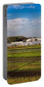 Farmer's Market And Green Fields Portable Battery Charger