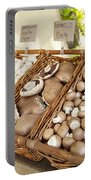 Farmers Market Mushrooms Portable Battery Charger