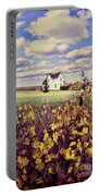 Farmhouse And Grapevines Portable Battery Charger