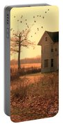 Farmhouse By Tree Portable Battery Charger