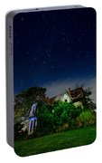 Farmhouse Star Trails.  Portable Battery Charger