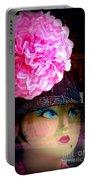 Fashion Goddess  Portable Battery Charger