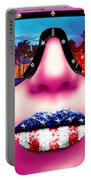 Fashionista Miami Pink Portable Battery Charger