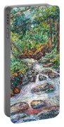 Fast Water Wildwood Park Portable Battery Charger by Kendall Kessler