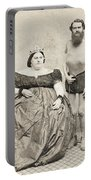 Fat Lady & Thin Man Portable Battery Charger
