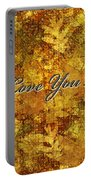 Father's Day Greeting Card Iv Portable Battery Charger