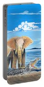 Faune D'afrique Centrale 02 Portable Battery Charger