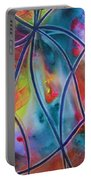 Faux Stained Glass II Portable Battery Charger