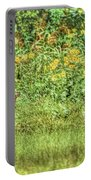 Fawn In Flowers Portable Battery Charger