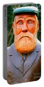 Fear The Beard Golfer Portable Battery Charger