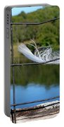 Feather And Fence Portable Battery Charger