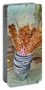 Feather Duster Bouquet Portable Battery Charger