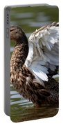 Feather Spread - Female Mallard Portable Battery Charger