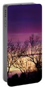 February's Dramatic Sunrise Portable Battery Charger