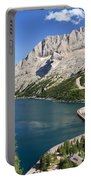 Fedaia Pass With Lake Portable Battery Charger