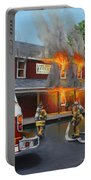 Feed Store Fire Portable Battery Charger