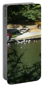 Feeding Ducks Portable Battery Charger