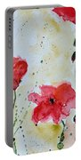 Feel The Summer 1 - Poppies Portable Battery Charger