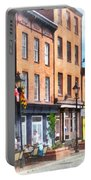 Fells Point Street Portable Battery Charger