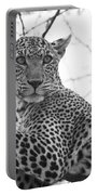 Female Leopard Portable Battery Charger