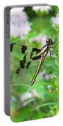 Female Twelve-spotted Skimmer Portable Battery Charger