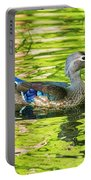 Female Wood Duck Portable Battery Charger