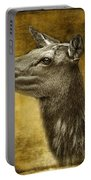 Female Yellowstone Elk Portable Battery Charger