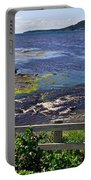 Fence Along Rocky Harbour-nl Portable Battery Charger