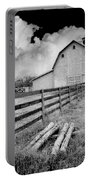 Fence Posts And Barn Portable Battery Charger