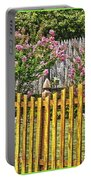 Fenced Beauty Portable Battery Charger