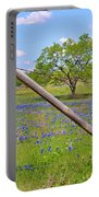 Fenced-in Beauty Portable Battery Charger by Lynn Bauer