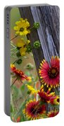 Fenceline Wildflowers Portable Battery Charger