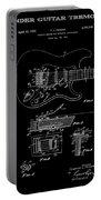 Fender Guitar Tremolo Patent Art 1956 Portable Battery Charger