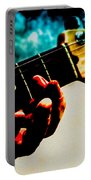 Fender Strat Portable Battery Charger by Bob Orsillo