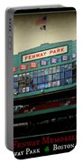 Fenway Memories - Poster 2 Portable Battery Charger