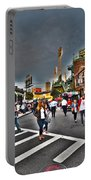 Fenway Park And Cask And Flagon Portable Battery Charger
