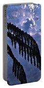 Fern At Twilight Portable Battery Charger