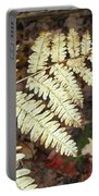Fern In The Forest Portable Battery Charger
