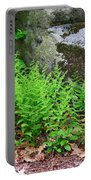 Fern Patch Portable Battery Charger