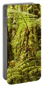 Ferns And Moss Portable Battery Charger