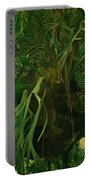 Ferns In The Jungle Room Portable Battery Charger