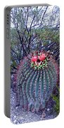 Ferocactus Wislizenii Portable Battery Charger