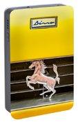 Ferrari Dino Grille Emblem -0750c Portable Battery Charger