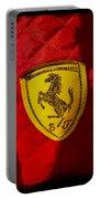 Ferrari Emblem Portable Battery Charger