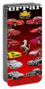 Ferrari Sports Car Poster  Portable Battery Charger