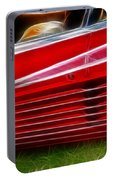 Ferrari Testarossa Red Portable Battery Charger