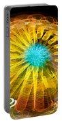 Ferris Wheel Flower Portable Battery Charger