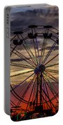 Ferris Wheel Sunset Portable Battery Charger