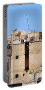 Fes Cityscape In Morocco Portable Battery Charger