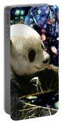 Festive Panda Portable Battery Charger